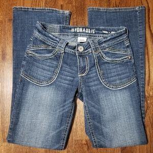 3/$25 Boot cut jeans
